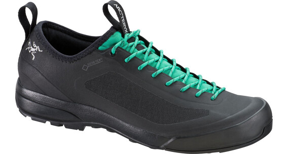 Arc'teryx W's Acrux SL GTX Approach Shoes Black/Patina